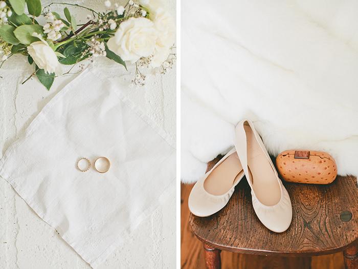 Beautiful wedding day accessories