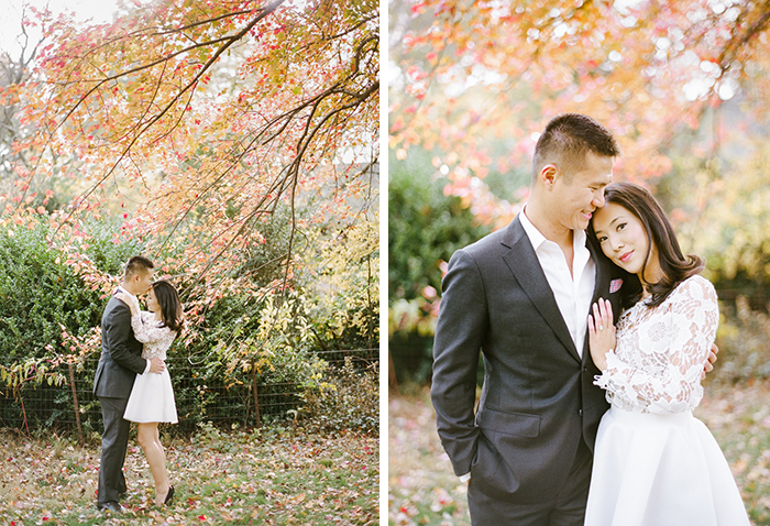 Lovely fall engagement in Central Park.