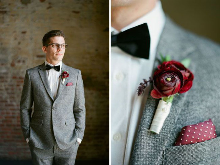 Photo by  Brklyn View Photography via  Green Wedding Shoes