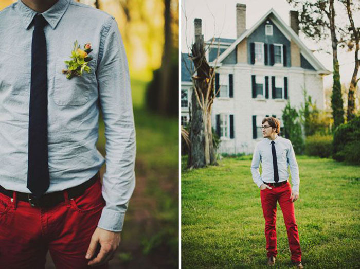 Photo by  Ariel Renae via  Green Wedding Shoes