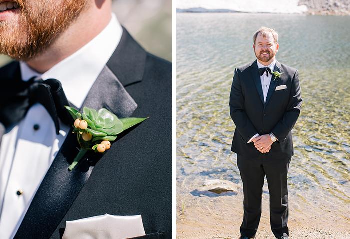 Groom elopement