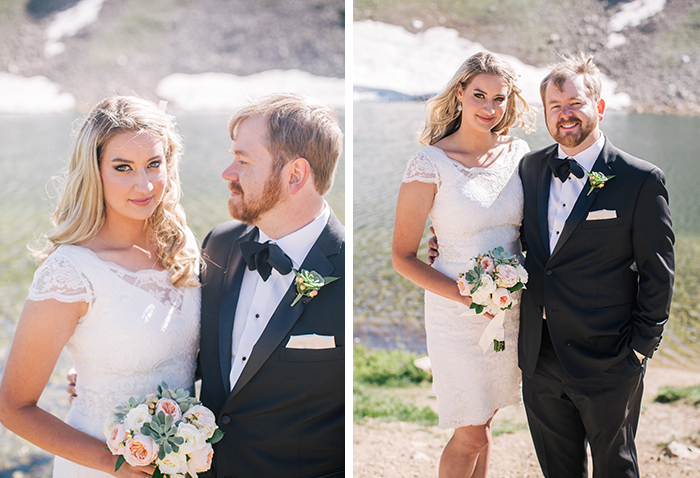 Wedding elopement photo