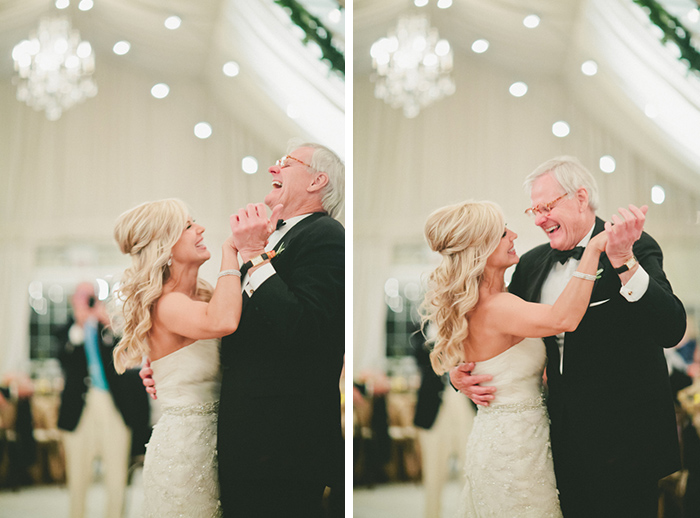 Love this bride and father dance photo!