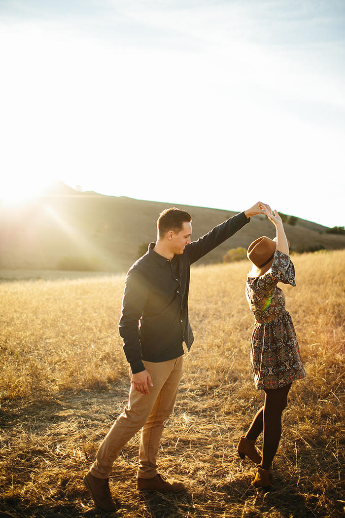 Beautiful boho anniversary shoot at golden hour. This is lovely!