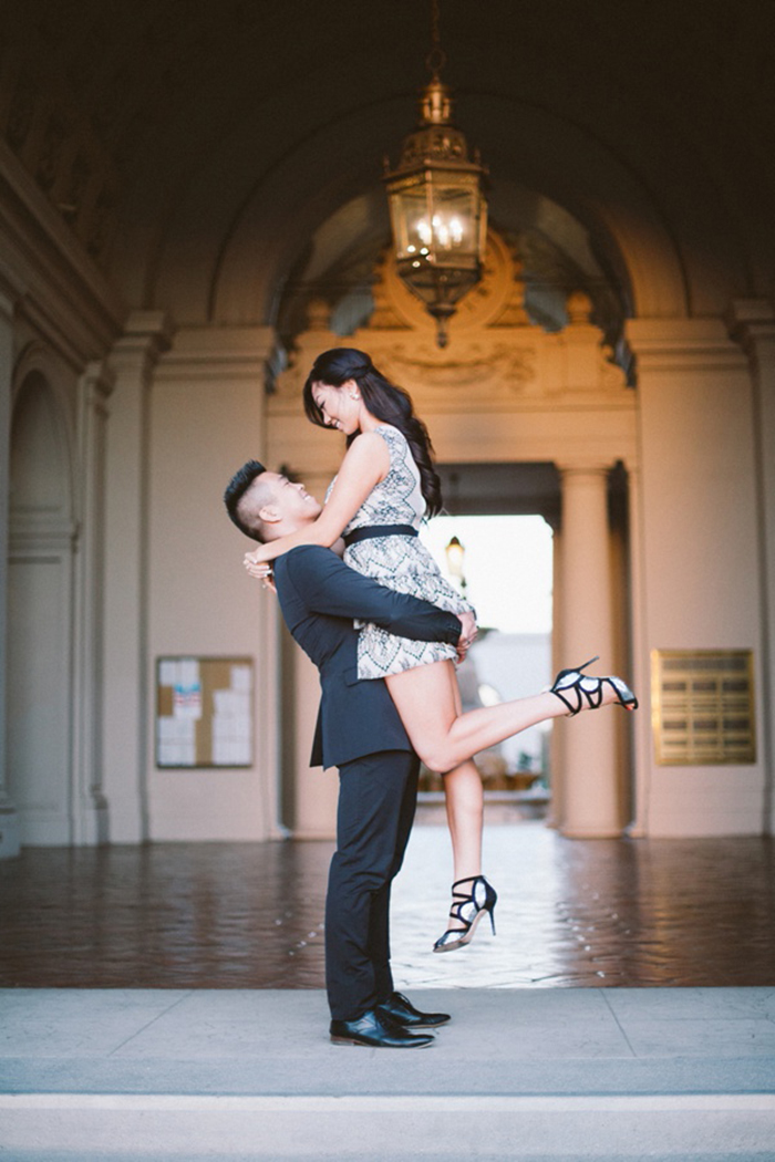 Timeless formal engagement photography