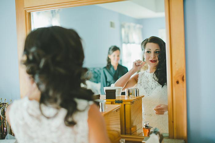 Romantic classic bridal makeup