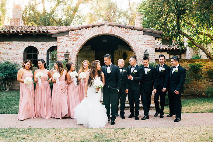 Beautiful bridal party photo