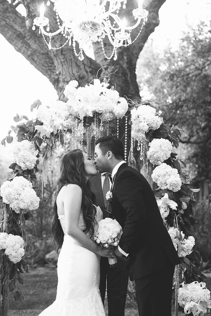 Stunning california garden wedding