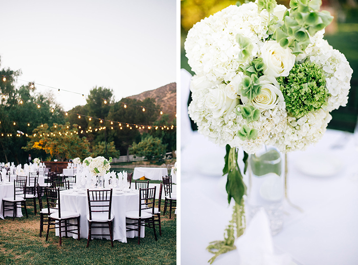 luxe and romantic garden wedding by jenna bechtholt