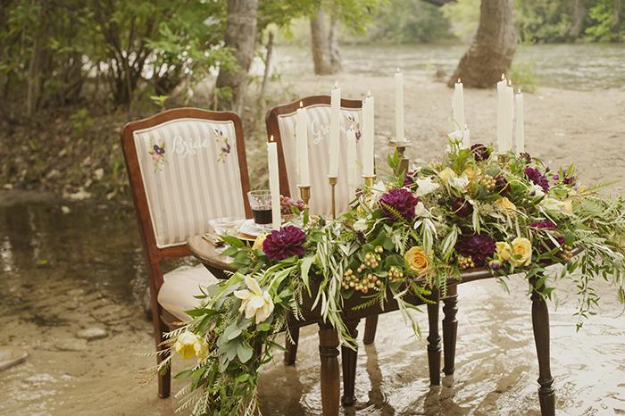Gorgeous boho fall styled shoot