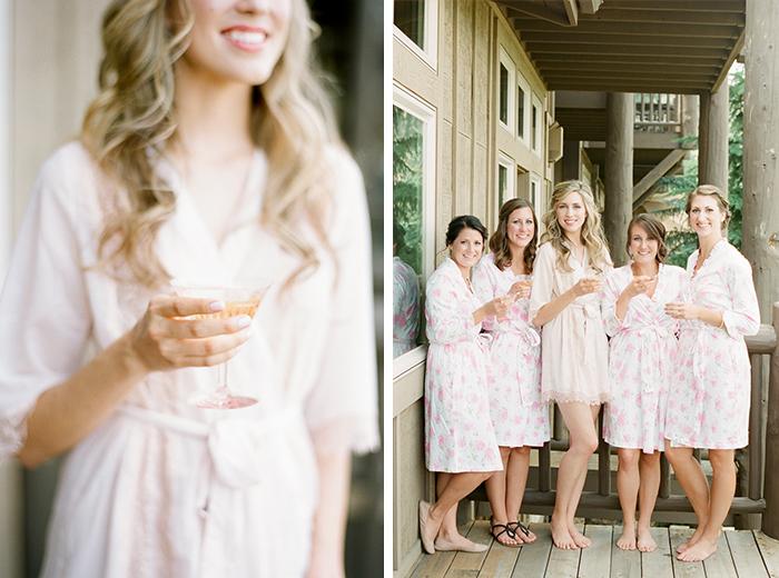 romantic blush pink mountain wedding 13