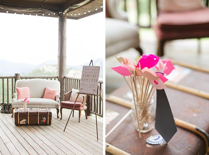 romantic blush pink mountain wedding 4
