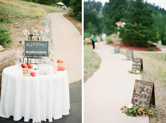 romantic blush pink mountain wedding 5
