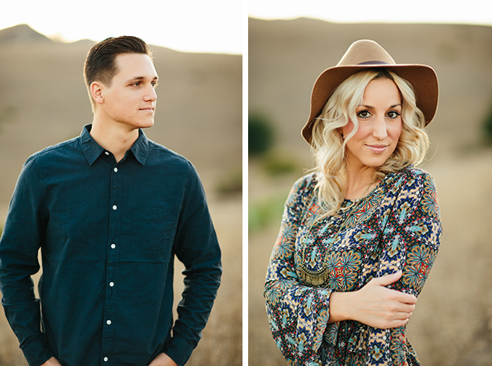 Gorgeous golden hour anniversary photos for a gorgeous couple!