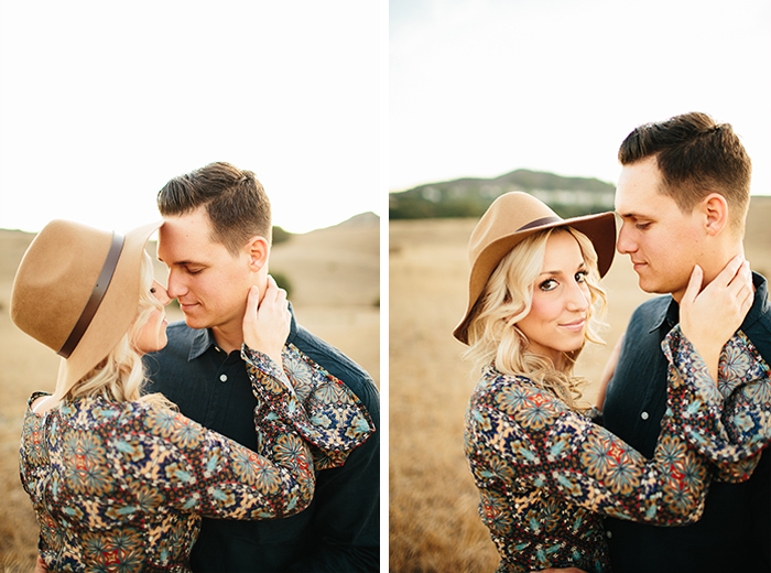 romantic boho wheat field anniversary shoot by emily magers