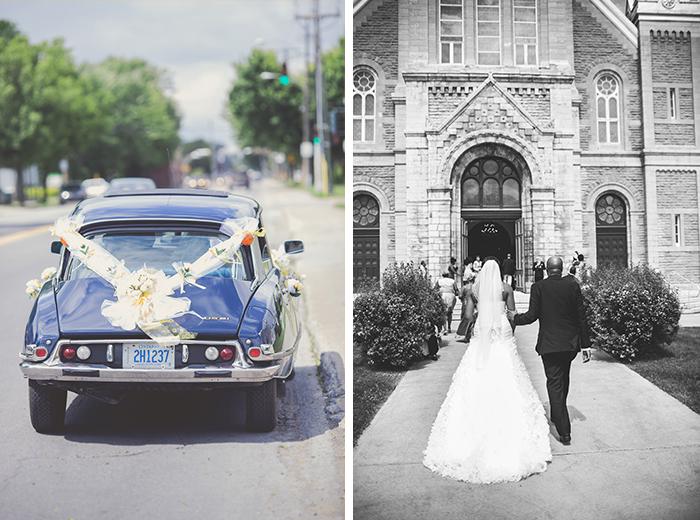 stunning simple church wedding