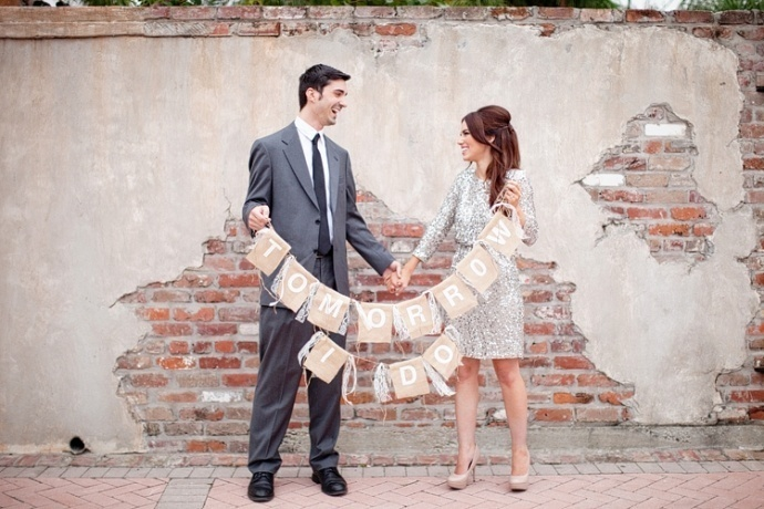 Photo by  Greer G Photography  via  Tying the Knot