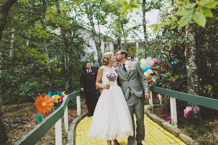 Unique themed weddings