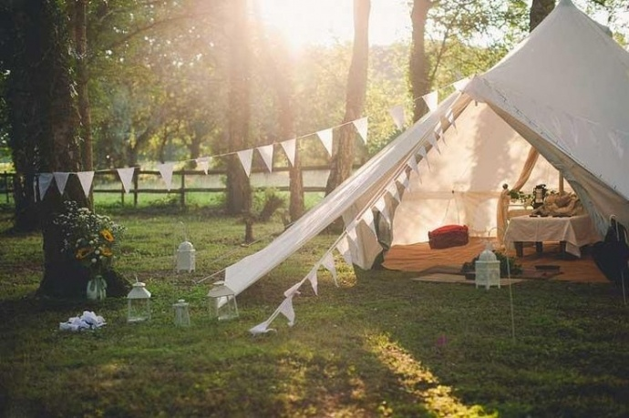 Photo by  Wedfest Tents