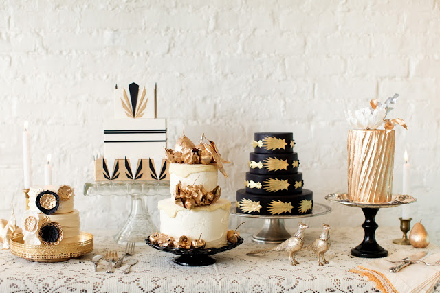 Photo by  Jen Huang Photography  via  Lael Cakes