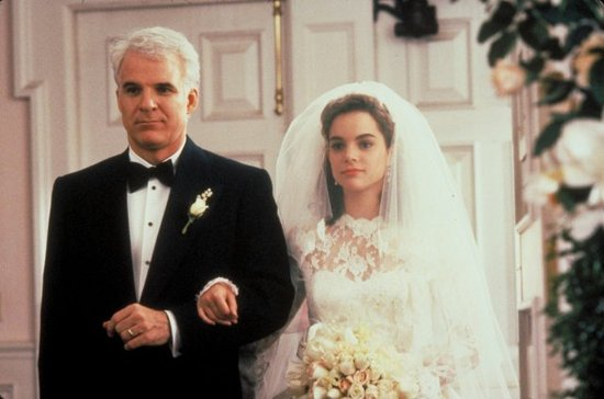 Father of the Bride movie image steve martin father of the bride walking bride down aisle wedding movies classic wedding movies bridal party vintage wedding dress classic wedding movies wedding party blog