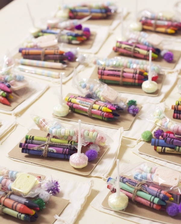 crayons and candy crayola crayons krafts for kids at wedding wedding party blog