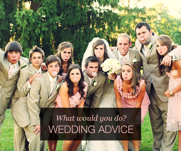 wedding advice column with a bride to be and wedding planner on wedding party app blog