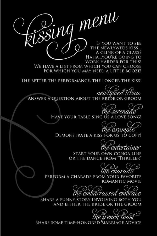 wedding kissing menu, wedding kissing ideas, wedding kissing photos, wedding fun kissing game, wedding fun game, guest wedding game, unique wedding ideas, unique wedding guest ideas, how to entertain wedding guests, unique ideas for wedding guests, how to entertain wedding guests, how to be a good wedding guest, unique wedding guest entertainment, wedding guest entertainment, how to make sure wedding guests have a good time, entertaining wedding guests, wedding guest inspiration, wedding guest ideas, wedding guest games, wedding guest fun ideas