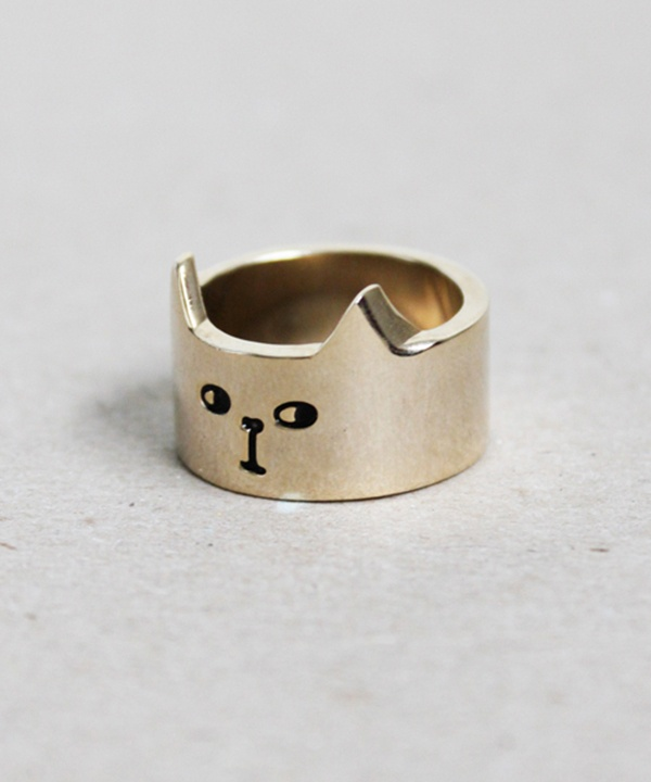 promise ring, couple, engagement, ring, his and hers rings, love, cat ring, gold, gold ring