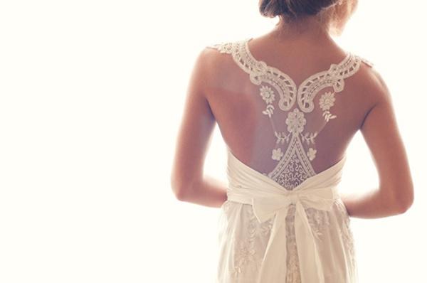 24 Unique Racerback Wedding Dresses That Make Our Hearts Race Wedpics Blog