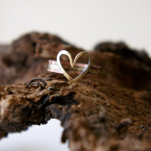 promise ring, couple, engagement, ring, his and hers rings, love, heart ring