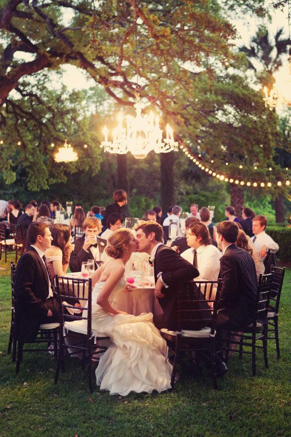 Wedding Ambiance Cool Lighting