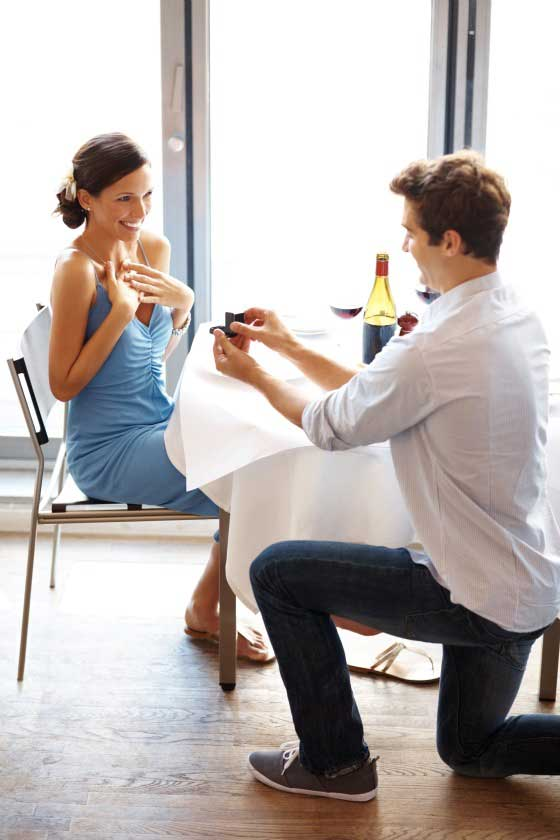 proposal, how to propose, engaged, marriage proposal, pop the question, private engagement, proposal idea, proposal planning, propose at dinner