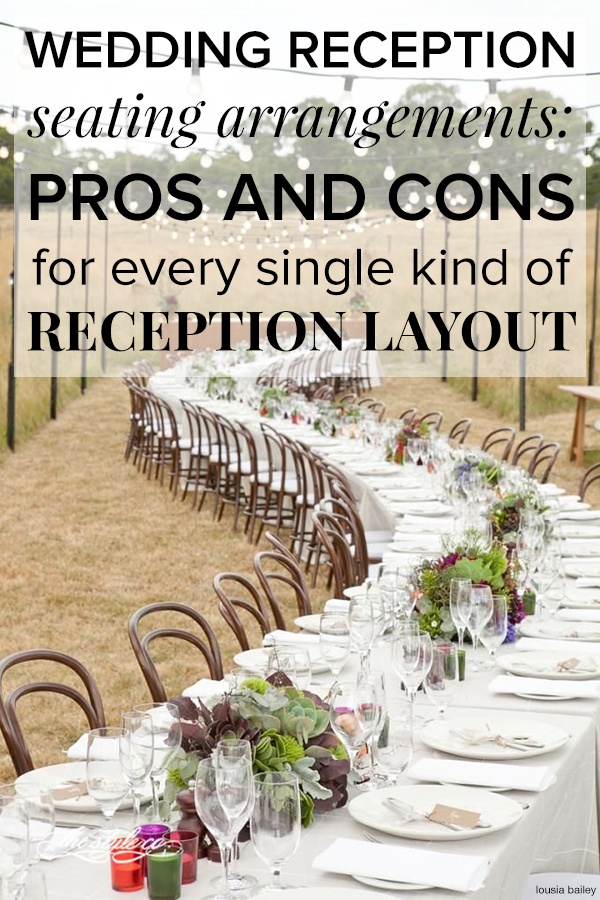 Wedding Reception Seating Arrangements, Best Table Layout For Wedding Reception