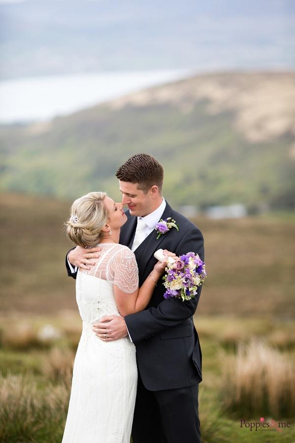 Wedding of Cathy and Daíre on Valentia Island, Co Kerry. Ireland.
