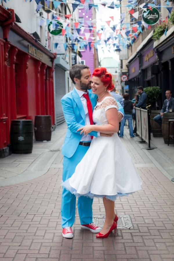 Dublin wedding by half a dream away