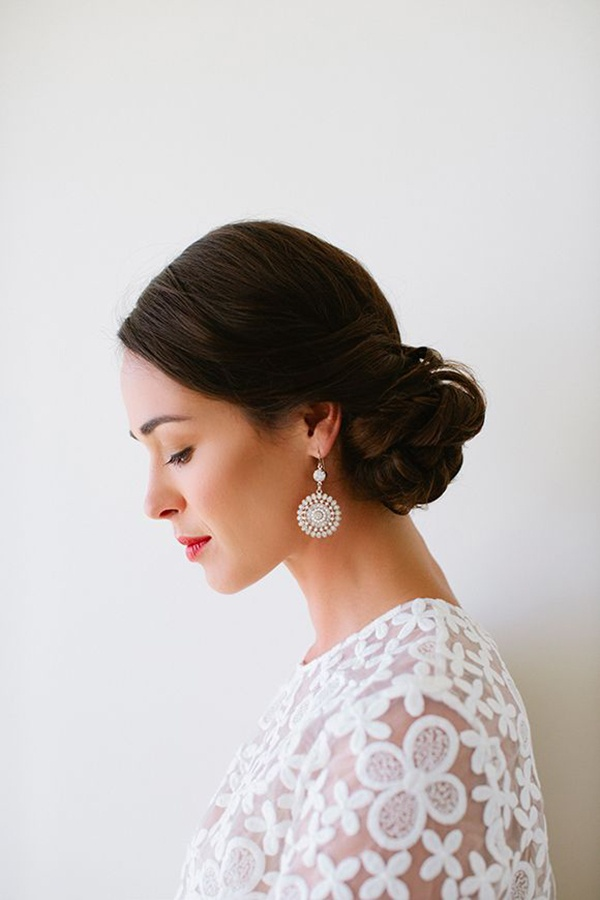 Brides To Be Steal Lauren Conrad S Perfect Wedding Worthy Bridal Updo Wedpics Blog