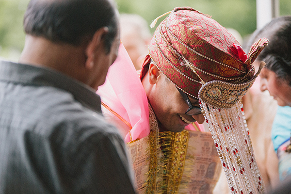 quirky Indian fusion wedding