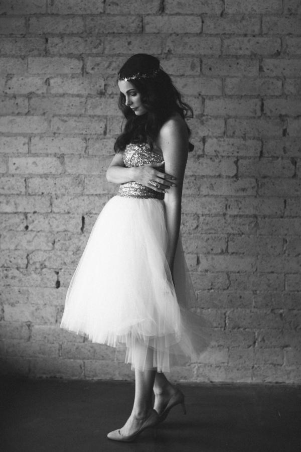 Beautiful untraditional wedding dress by Ouma under $500