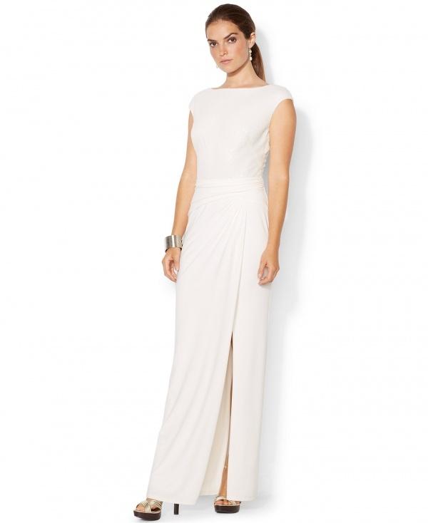 Exquisite shimmering bodice gown by Ralph Lauren, under $500!