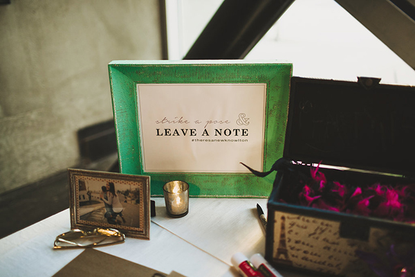 Wedding welcome and guest book table at the reception idea