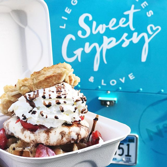 Introducing our signature waffle ice cream sando... #weekendvibes