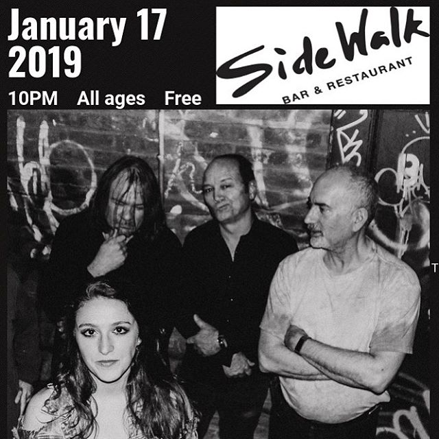 First show of 2019! Sidewalk Cafe. Next Thursday at 10 pm. . . . . #nyc #nycmusic #band #coverband #rock #rocknroll #classicrock #nycbands #bandsofinstagram #musiciansofinstagram #catfished #gig #singer #thursdaynight #eastvillage