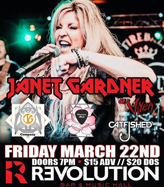 Super stoked about our next show! Opening for @janetplanetrocks of @vixen_band 🎸We have a limited amount of $15 presale tickets so get them while you can! 🤘🏻🎶 . . . #nyc #singer #band #rocknroll #rockband #coverband #gig #revolution #music #nycmusic #vixen #show #rockshow