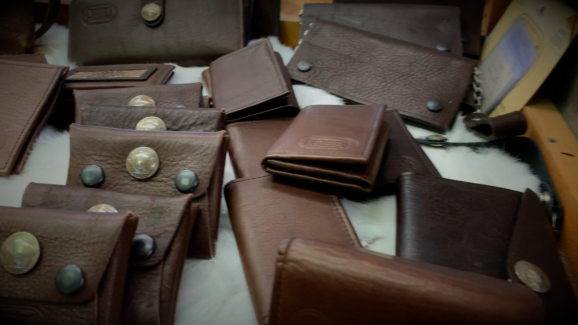 Buffalo Leather Wallets