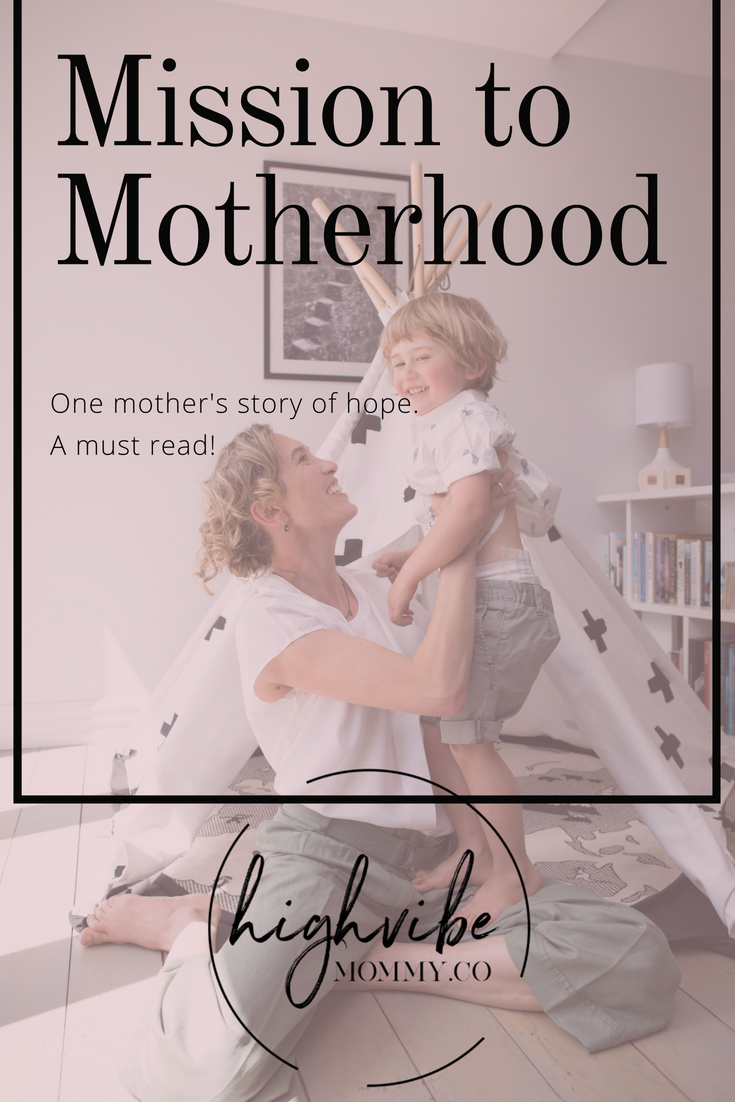 Mission to motherhood by Amira Mikhail. Invertility, surrogate baby, hope, happy ending.png