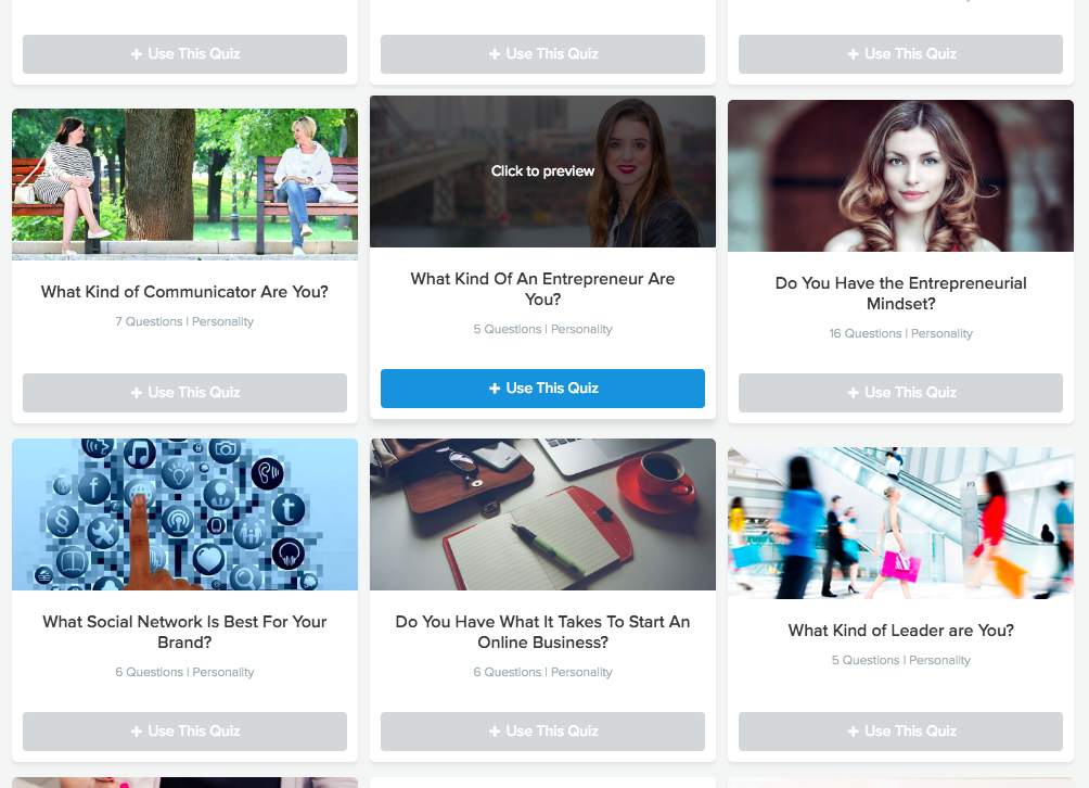Using Interact quizzes for your funnel strategy