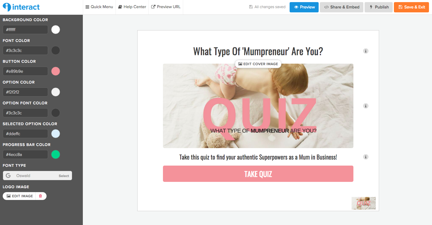 lead magnet quiz, interact, buzz feed quizzes, funnel strategy
