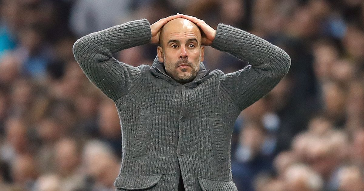 Is it wrong that I wanted to swim in Pep's sorrow after the game? Probably.