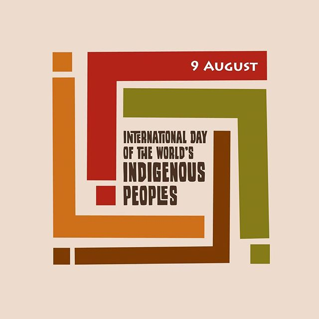 Let this day, #IndigenousPeoplesDay, be a reminder that we must promote and protect the rights of the world's indigenous people. Their contributions, achievements, and efforts improve the world we live in every day.  #WeAreIndigenous #IndigenousDay #UNDRIP